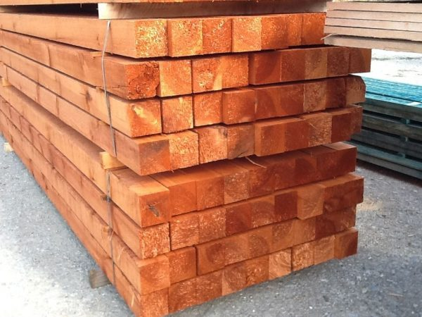 Kantholz 120 x 120 mm