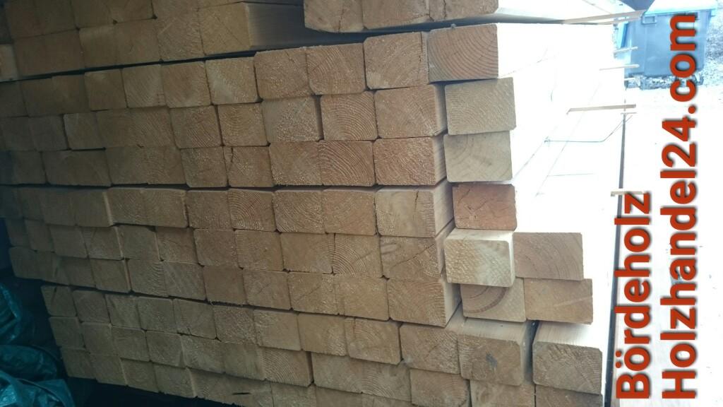 Kvh Kantholz Gehobelt 100 X 100 Mm Preis Je Lfm Holzhandel24 Com