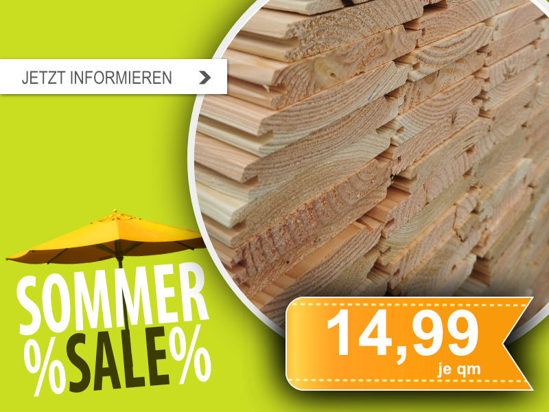 Profilholz Lärche/ Douglasie